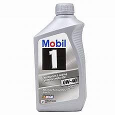 Mobil 1 98kg00 0w 40 Synthetic Motor 1 Quart New Ebay