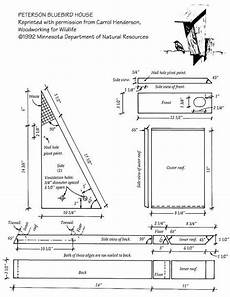 peterson bluebird house plans peterson bluebird house bluebird house plans bird