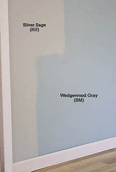 comparing silver restoration hardware and wedgewood gray benjamin blue gray