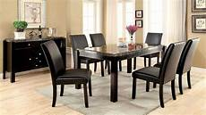 marble dining room sets gladstone i gray marble top dining room set from furniture