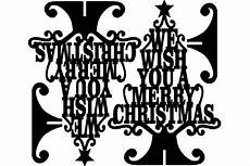 stand merry christmas wish dxf file free download 3axis co