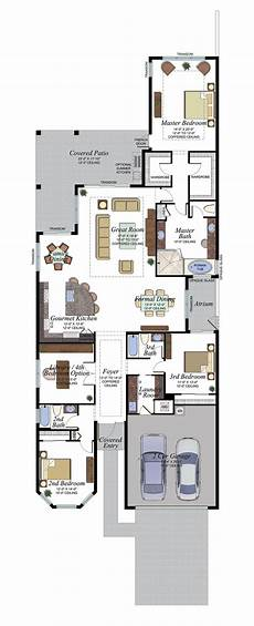 luxury home plan with impressive features 66322we each home at bocabridges will come with an impressive