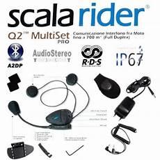 scala rider q2 multiset pro motorcycle intercom