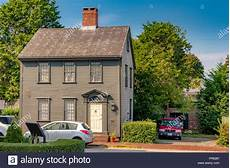 Holz Haus Im Kolonialstil Auf Division St Newport Rhode