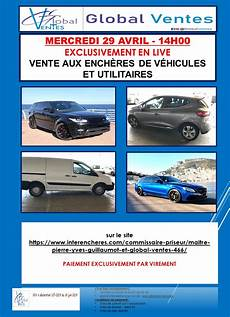 Vente Aux Ench 200 Res De Voitures Exclusivement En Live