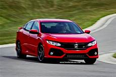 2018 Civic Si Specs by 2018 Honda Civic Si Sedan Specs Release Date And Price