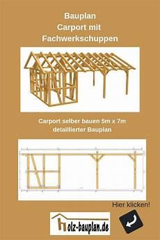 detaillierter bauplan als pdf carport zeichnung