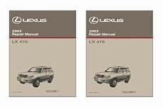 free service manuals online 2003 lexus lx windshield wipe control 2003 lexus lx 470 shop service repair manual book engine drivetrain oem ebay