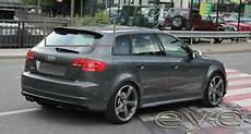 audi a3 8p audi a3 8p sportback 5d 5 doors 03 12 rs3 look rear