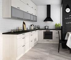 küche in l form k 252 chenzeile k 252 che l form 310x210cm jersey fino wei 223 neu