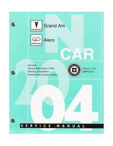 free online auto service manuals 2003 pontiac grand prix free book repair manuals 2004 pontiac grand am oldsmobile alero factory service manual 2 volume set