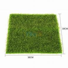 moss mat artificial green sheet grass train craft fairy