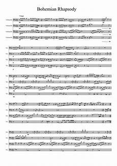bohemian rhapsody quartet sheet music bohemian rhapsody for cello quartet sheet music orchestra stuff pinterest cello sheet