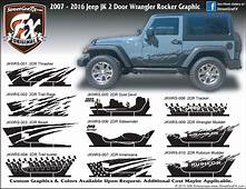 Jeep Wrangler Graphics Stripes & JK