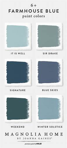 wow feast your eyes the farmhouse blue color palette from the magnolia home by jo with