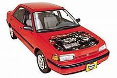 car manuals free online 1991 mazda familia navigation system 323 haynes manuals