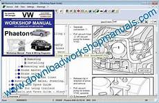 motor repair manual 2005 volkswagen phaeton electronic valve timing vw phaeton workshop manual