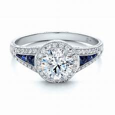 beautiful diamond sapphire wedding ring with engagement rings diamond halo and blue sapphire