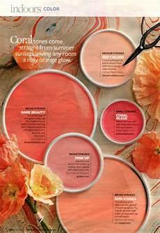 august 2009 quot coral quot better homes gardens color