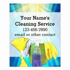 cleaning service promotional flyers cleaning service promotional flyer templates