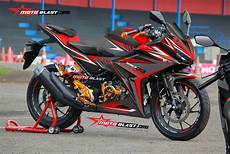 Modifikasi Striping All New Cbr150r by Modifikasi Striping Honda All New Cbr150r Black