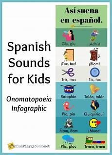 spanish onomatopoeia for kids spanish playground