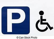 panneau parking handicapé accessible style r 233 serv 233 isol 233 nouveau signe parking