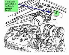 P0174 Low Fuel Pressure Mistery Vacuum Line Blazer