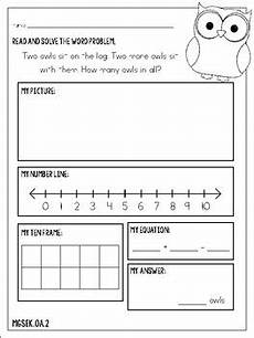 addition word problem worksheets for kindergarten 11338 kindergarten addition word problems by with ms schmidt tpt