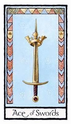 As Der Schwerter - tarot bedeutung orakelkarten net