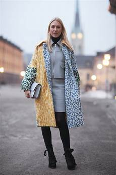 street fashion stylish in sweden