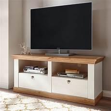 tv board landhaus landhaus lowboard 152cm pinie wei 223 wotan eiche tv board