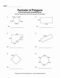 perimeter of a polygon worksheet perimeter polygon