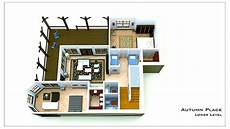 walkout bungalow house plans small cottage plan with walkout basement small cottage