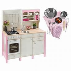kuchnia drewniana dla dzieci r 243 żowa duży zestaw