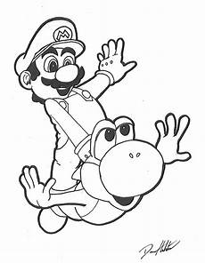 mario and yoshi by daren93 on deviantart