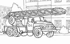 rescue vehicles coloring pages 16411 coloring page automatic rescue ladder