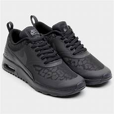 nike womens air max thea black leopard 616723 001 running