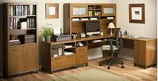 home office furniture oak achieve warm oak home office set from bush pr67310k
