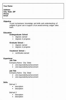 college resume template clever hippo