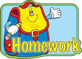 Image result for Homework Clip Art