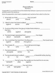 preposition of time worksheets for grade 3 3491 worksheets for prepositions with images to search preposition worksheets