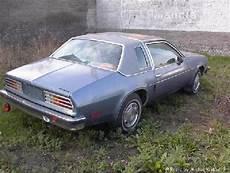 1979 pontiac sunbird pontiac sunbird vehicle summary motorbase