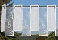 kurzgardinen wohnzimmer kurzgardine panneaux scheibengardinen plauener spitze