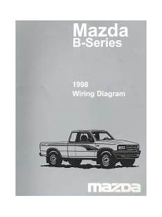 auto repair manual online 1998 mazda b series plus on board diagnostic system 1998 mazda b series wiring diagram