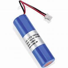spezial akku 18650 stecker li ion esotec 3 7 v 1800 mah 3