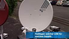Ausrichten Auf Astra 19 2 176 E Und Eutelsat Hotbird 13 176 E Mit