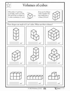 great for beginners volume worksheet volume math