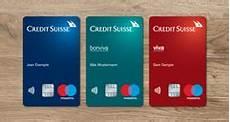 carte debit credit konten und karten credit suisse