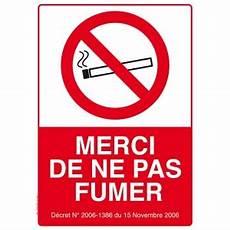 affiche défense de fumer plaque a4 en polyur 233 thane 5 mm adh 233 sive quot merci de ne pas